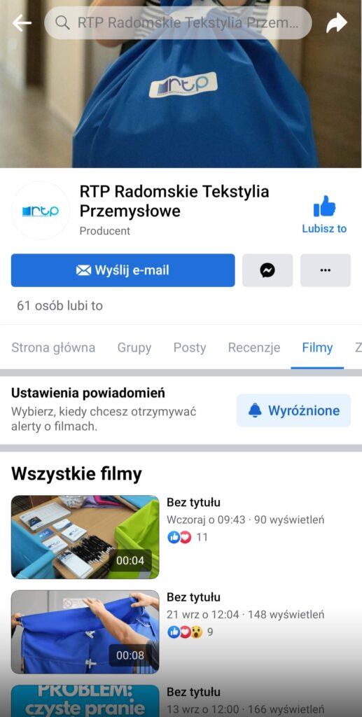 RTP na Facebooku